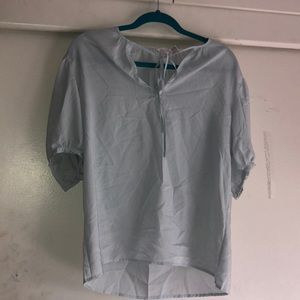 Liz Claiborne light blue top